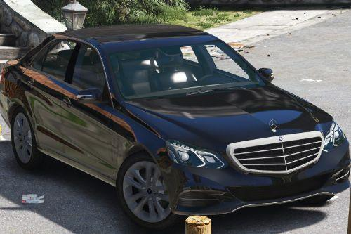 Mercedes-Benz E-Klasse 2014 [Wipers] [Add-On/Replace] [Dials]